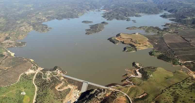 El agua almacenada en los embalses andaluces continúa subiendo