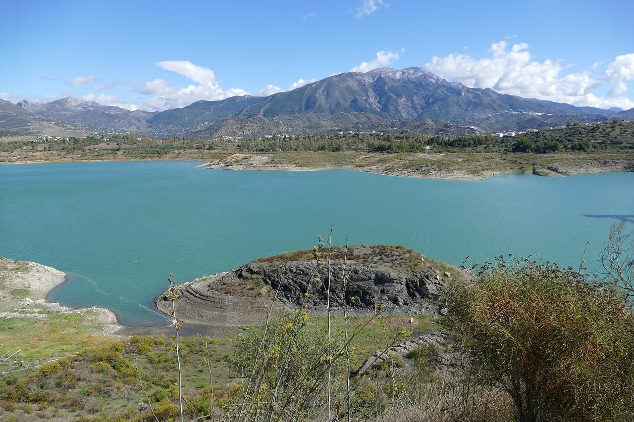 Aumenta la reserva de agua en los embalses andaluces