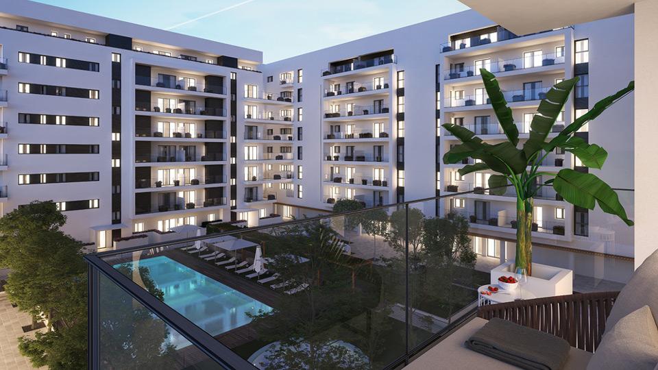 Nueva promoci n de pisos en sevilla este residencial argos - Pisos nuevos en sevilla este ...
