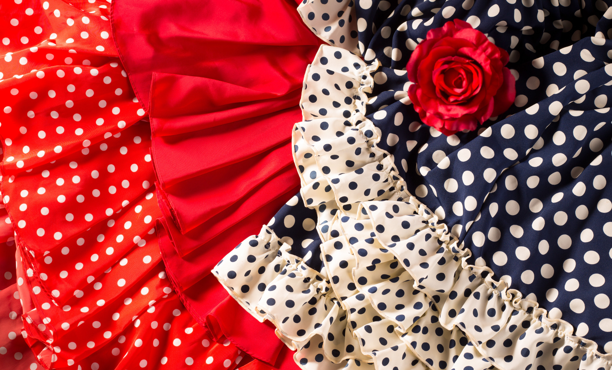 c322ffca9 Cuáles serán las tendencias en moda flamenca de Sevilla para este 2018