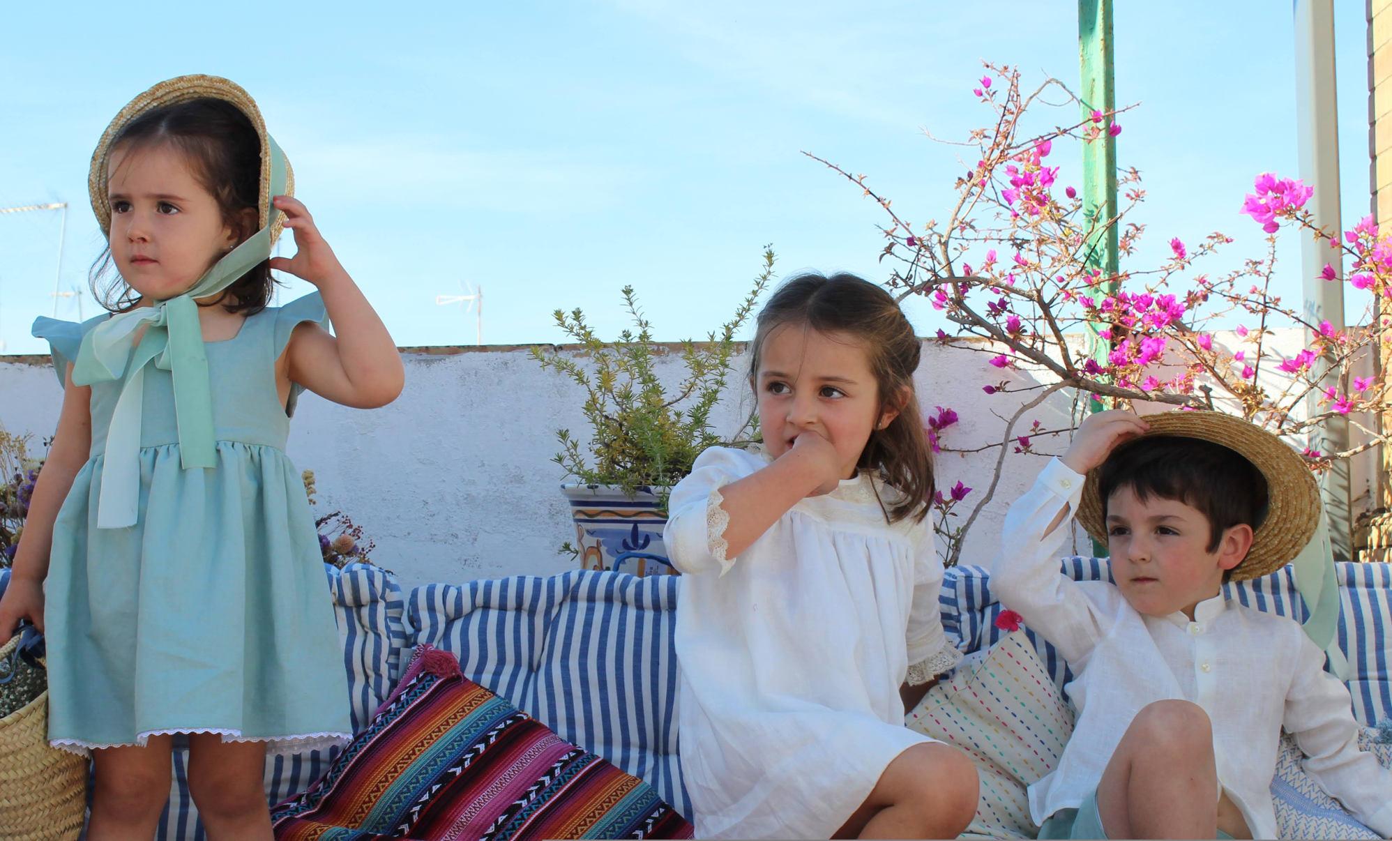 b8c90c887 ¿Cómo vestir a tus hijos para una boda  Esta marca de Sevilla tiene lo que  buscas