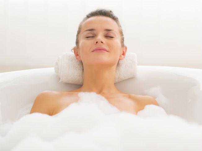 Pasos para un baño relajante