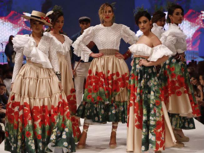 Desfile de Cristo Báñez en D'Flamenca Doñana 2019