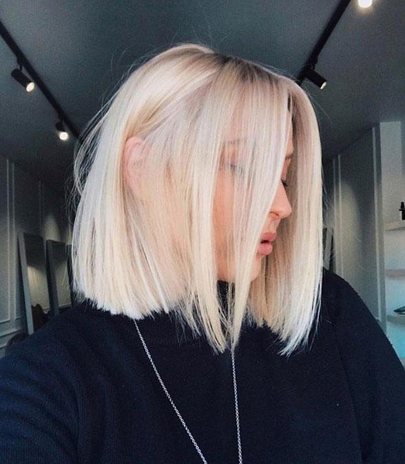 cortes de pelo para cabello fino: long bob