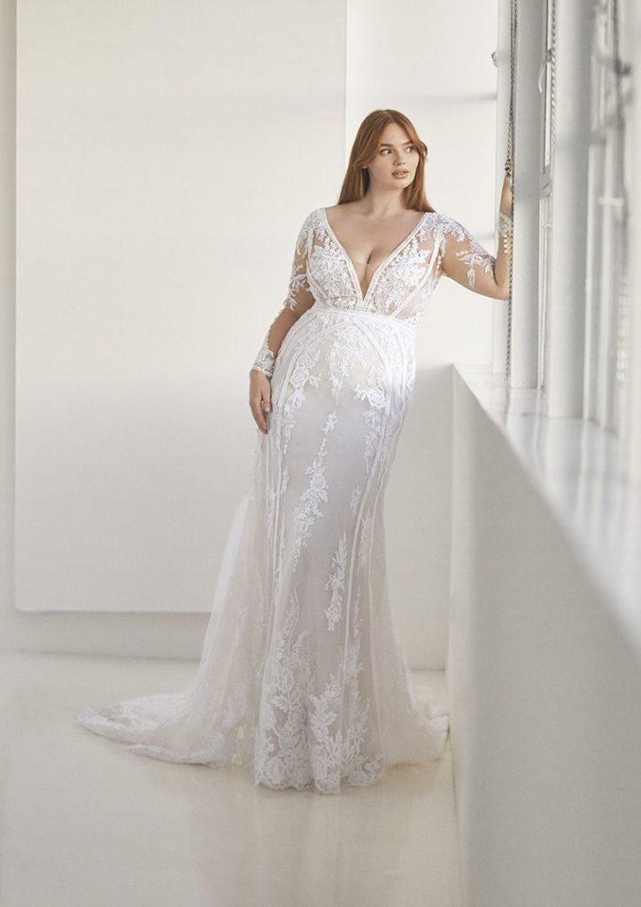 Ashley Graham diseña vestidos de novia en tallas grandes para Pronovias