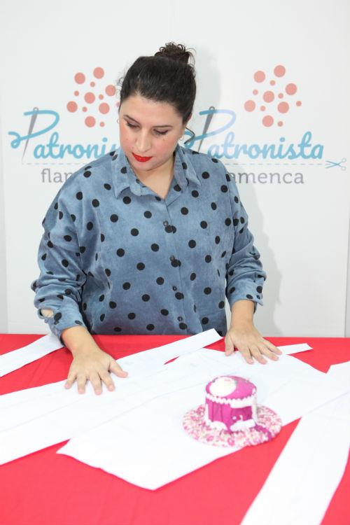 Patronista Flamenca. Foto: Pedro Jiménez Candau