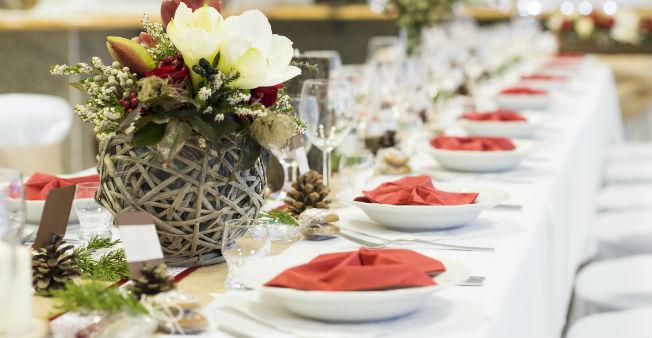 Tendencia mesas alargadas en las bodas