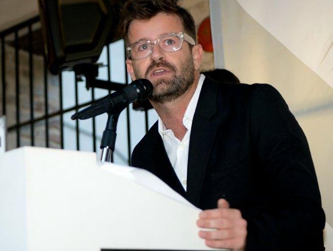 Fernando García en los premios Soy Moda 2015. Aldebarán.