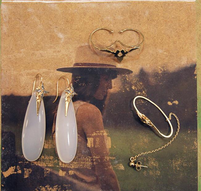 Piezas de joyería de la firma Cristina Zazo