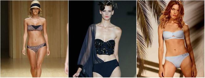 Bikinis para el verano 2015 de Dolores Cortés, Etam y Guillermina Baeza