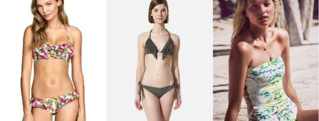 Bikinis y bañadores para el verano 2015 de HyM, Oysho y Victoria's Secret