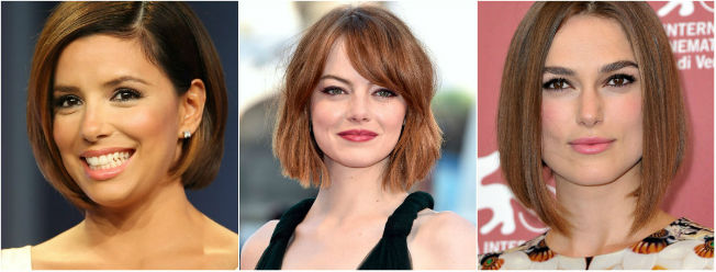 Cortes de pelo de actrices famosas