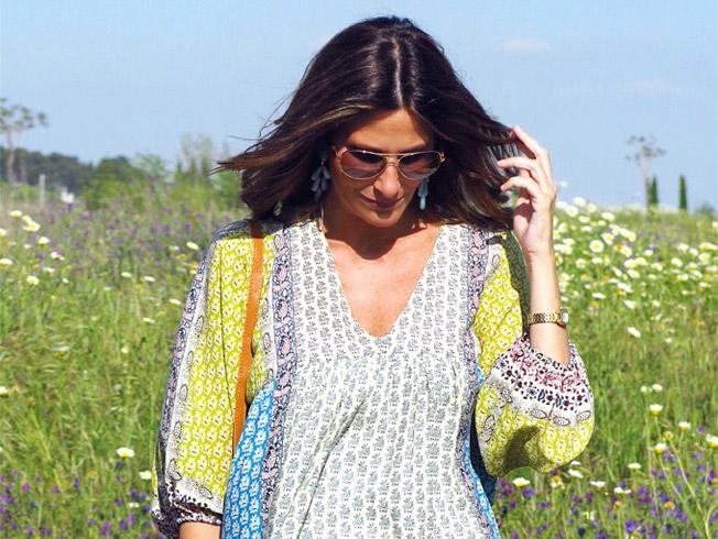 Camisa hippie