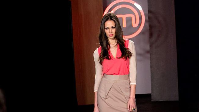 Eva González, como presentadora de Masterchef
