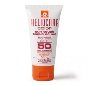 Gel protector solar facial con color Heliocare