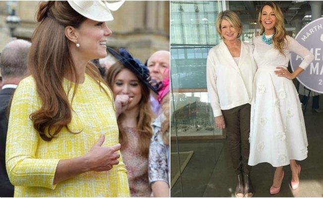 Catalina de Cambridge y Blake Lively han sido ejemplos de moda premamá