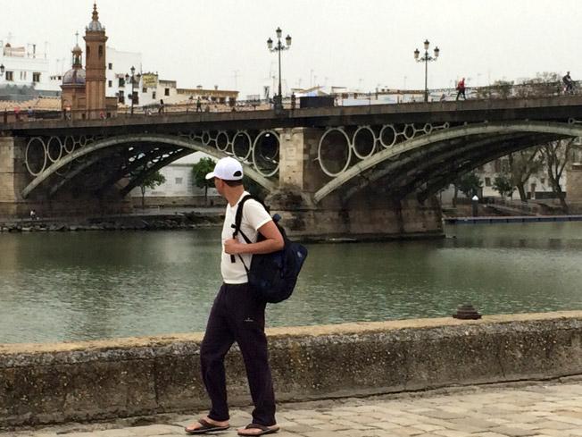 Sevilla debajo del puente