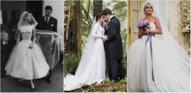 Top 3 de las mejor vestidas de novia en el cine: Una cara con ángel, Crepúsculo y Guerra de novias