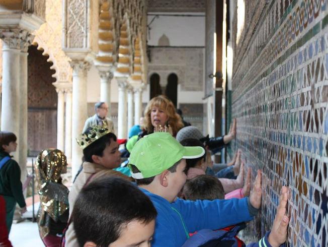 Plan para los peques descubriendo el Alcázar