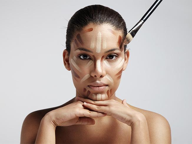 contouring contorno maquillaje