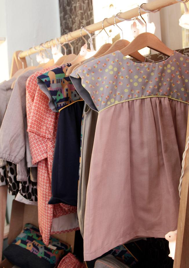 Vestidos de la colección infantil Otto&Tula