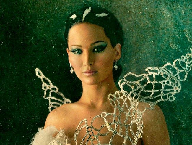El maquillaje de Katniss en Los juegos del hambre es espectacular