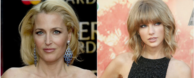 Gillian Anderson y Taylor Swift