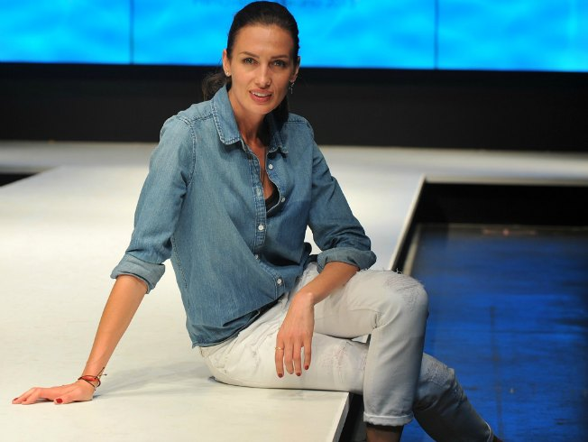 Nieves Alvarez es diseñadora de ropa infantil, modelo y presentadora