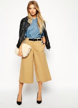 Pantalón culotte de Asos