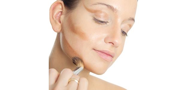Rostro delgado maquillaje