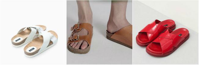 Sandalias de Uterque y Mango