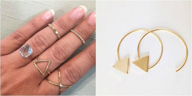 Nueva tendencia la fiebre de las joyas minimalistas for Joyas banadas en rodio
