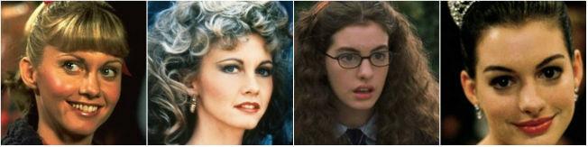 Transformaciones de maquillaje en el cine.