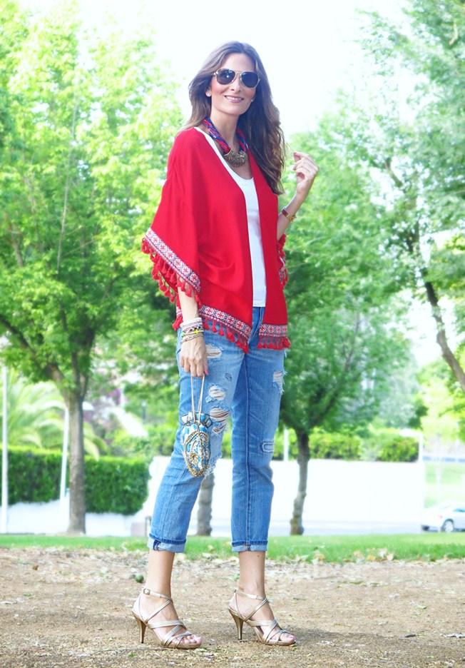 Kimono étnico de Con paso chic