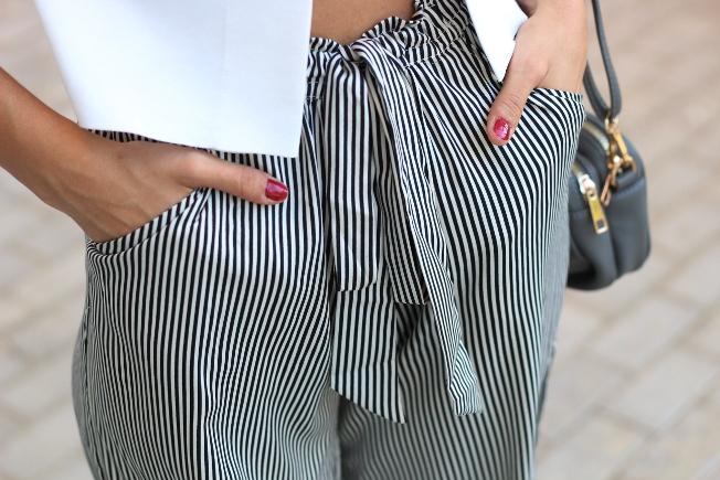 Culottes de mil rayas. Mariola Valdivia de Crazy Closet. Alberto PR