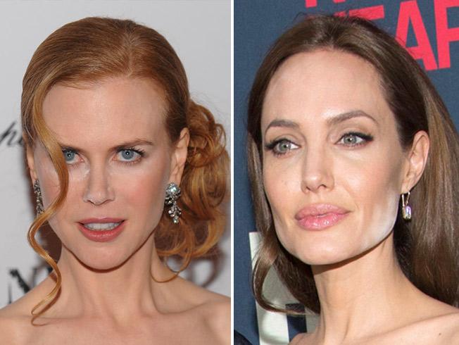 Nicole Kidman y Angelina Jolie