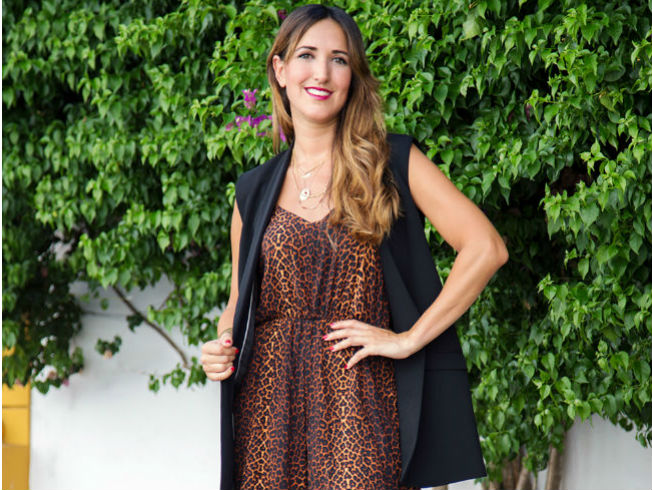 Estampado de leopardo con Fashion South
