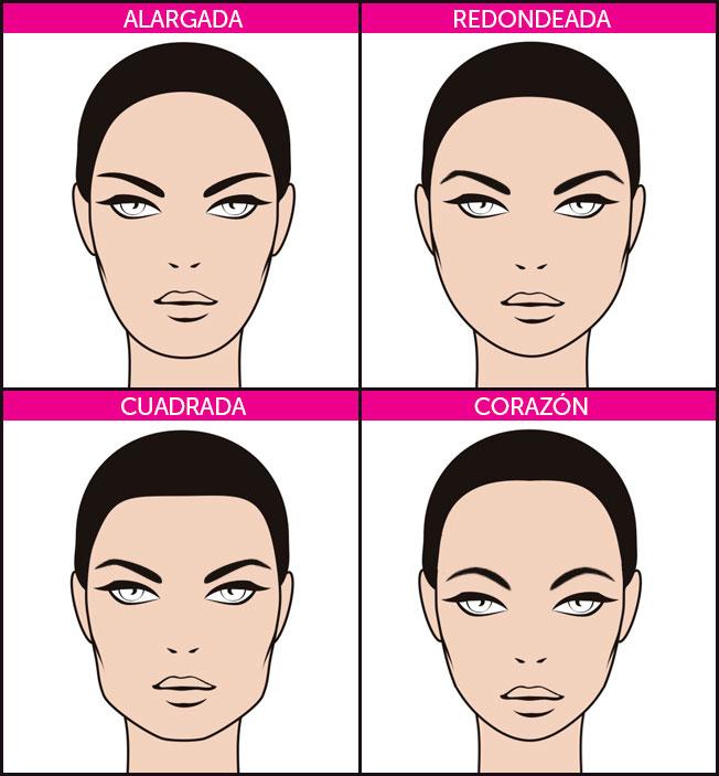 forma cejas según tipo de rostro