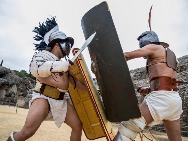 «Gladivs de Itálica» recrea las competiciones de gladiadores