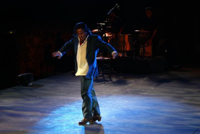 Javier Barón durante su espectáculo. Raúl Doblado