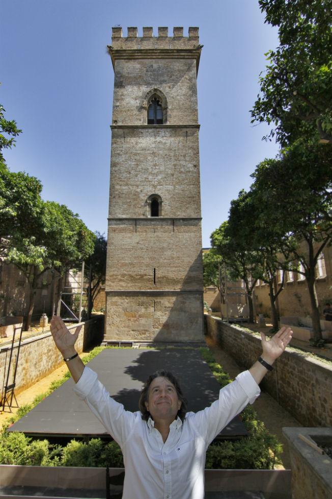 Javier en la Torre Fadrique. Vanessa Gómez