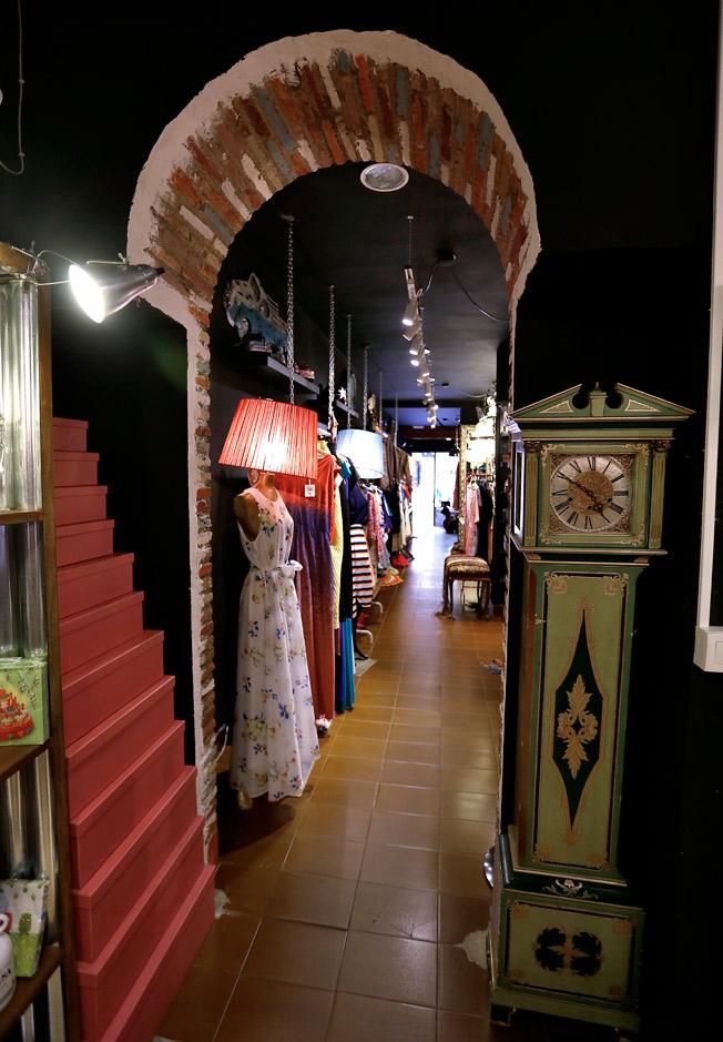 Imagen interior de Le Marché, en la céntrica calle Asunción