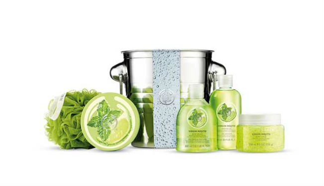 Línea Virgin Mojito de The Body Shop