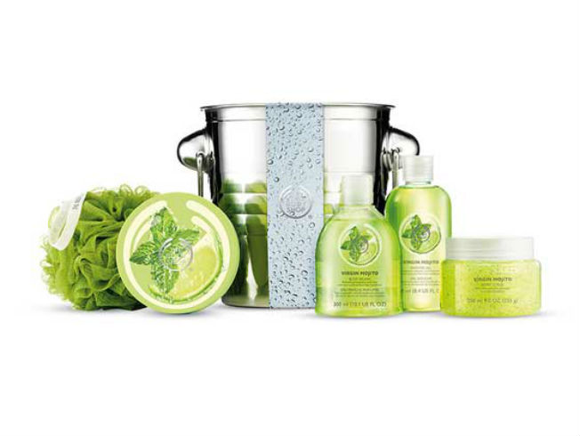 Linea mojito para The Body Shop