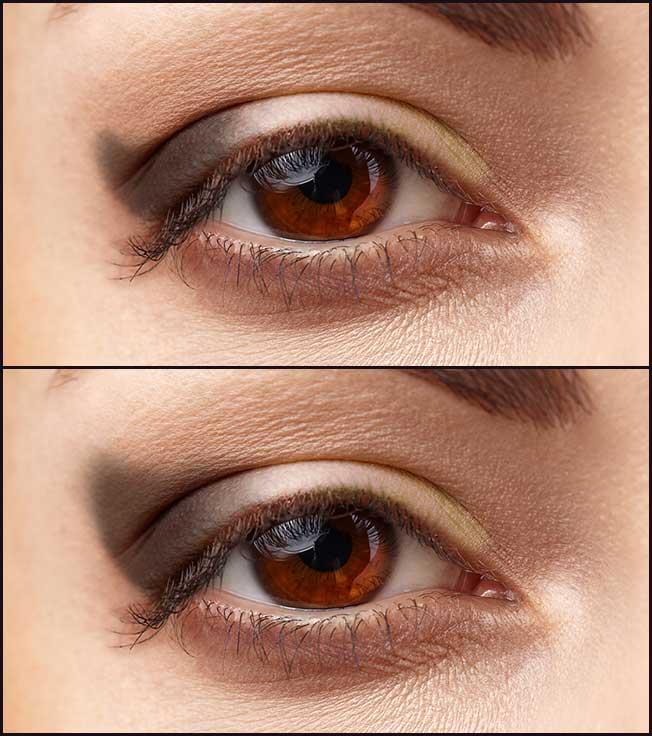 Sombra para ojos caídos