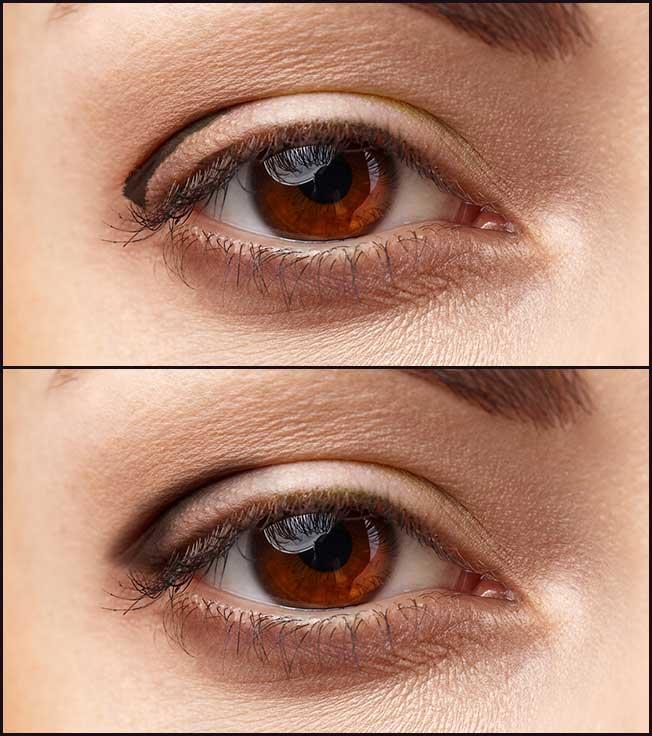 Sombra para ojos pequeños