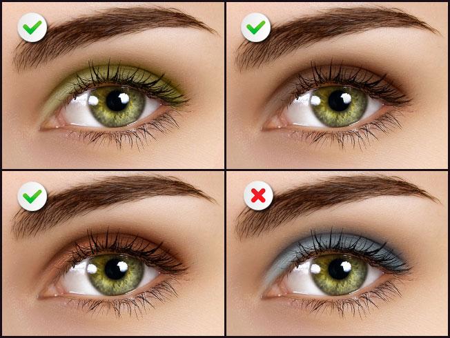 Sombras para ojos verdes for Sombras de ojos para ojos marrones