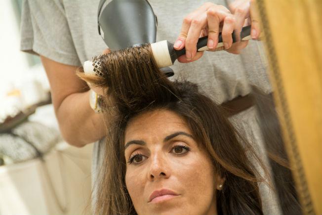 Peinado invitada coleta