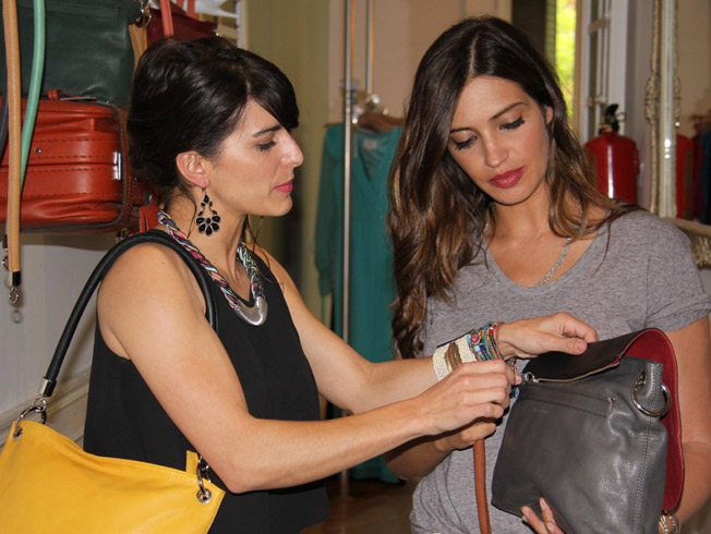 Paula Franco junto a Sara Carbonero