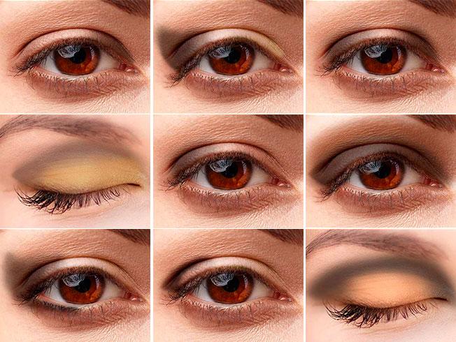 Técnicas para aplicar las sombras en función de la forma de los ojos